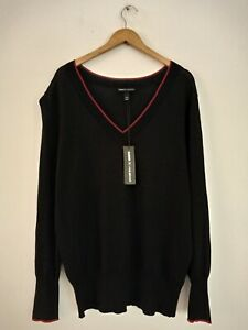 """""""GLAMOUR X LANE BRYANT"""" Lady s Black Luxury Top Size  18/20 New With Tags Orig.P"""