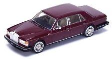 Rolls Royce Silver Spirit 1980 Maroon 1:43 Model TRUE SCALE MINIATURES