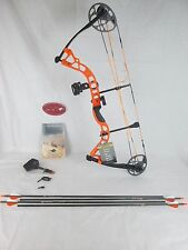 Diamond Prism Compound Bow Package Right Hand Orange Replaced Infinite Edge