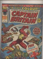 Captain Britain #1  Full color fanzine British marvel comic 1st App & 1st Rogue