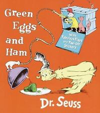 Green Eggs and Ham by Dr. Seuss c2001, Board Book Lift-the-Flap NEW