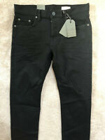 """ALL SAINTS MEN'S BLACK """"BODMIN REED"""" STRAIGHT FIT JEANS - 30"""" 32"""" 33"""" - NEW TAGS"""