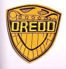 "Judge Dredd 3.25"" Tall Shield Logo Embroidered Patch- USA Mailed (JDPA-01)"
