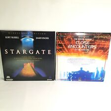 Lot of 2 Laserdiscs - Stargate And Close Encounters Of The Third Kind