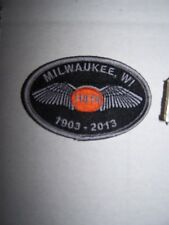 110th Milwalkee Harley Davidson Anniversary Commerative Patch