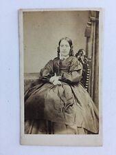 Victorian Carte De Visite CDV Photo: Lady: The Parisian: Ludgate Hill London