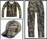 Breathable Cotton Bionic Hunting Camouflage Ghiliie Suit F Spring Summer Autumn