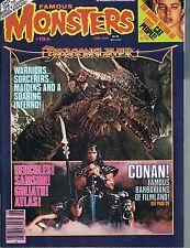 Famous Monsters #184 Cat People Dragonslayer Conan Godzilla 3-D 1982