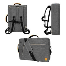 VanGoddy Grey 3 in 1 Backpack Messenger Bag for Apple MacBook Pro 13'' 13.3''