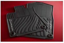 LEXUS OEM FACTORY 4pc ALL WEATHER FLOOR MAT SET 2013-2019 GS350 2WD BLACK