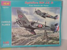 ICM #48068 1/48 SPITFIRE HF.IX E FREE FRENCH AIR FORCE  OPEN/COMPLETE