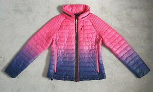 Superdry Ladies Original Sport 01 Ombre Jacket - Size L Pink Purple