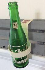Vintage Swim Suit 7 UP Bottle & Advertising 7 UP Clip On Bottle Holder