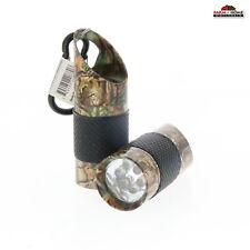 2 Mini Camo Flashlights Key Chain Bottle Opener LED ~ New