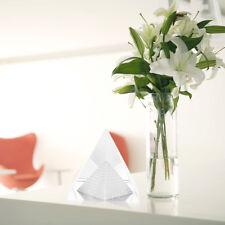 New Stone Clear Crystal Pyramid Egypt Egyptian Quartz  Home Office Desk Decor