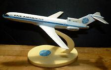Vintage Pan Am Airlines Boeing 727 Desk Model Airplane Air Jet Advance Models