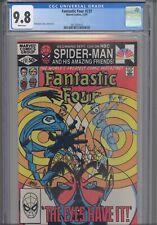 Fantastic Four #237 CGC 9.8 1981 Marvel Comics John Byrne Story, Cover & Art