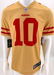 New Nike 2019 San Francisco 49ers Jimmy Garoppolo Inverted Legend Edition Jersey