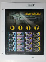 Batman Forever Commemorative Stamp Panel Sheet of 20 USPS#942 Scott#4928-35