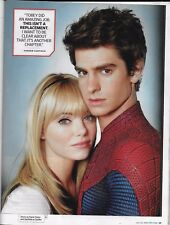 Entertainment Weekly magazine Spider-man Andrew Garfield Comic Con preview