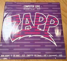 """Zapp -  Computer Love  Vinyl 12"""" 1985"""
