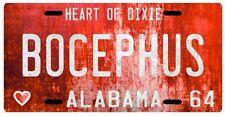 Hank Williams Jr. Bocephus 1964 Alabama Vintage Replica License plate