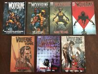 Wolverine TPB set Jason Aaron - Go to Hell Weapon X vs X-Men lot complete