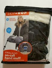 New listing Skip Hop Stroll-and-Go Cell Phone Pocket Hand Muff One Size Heather Grey New