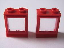 LEGO 7026 @@ Window 1 x 2 x 2 (x2) with Fixed Glass 1817 3739 7720