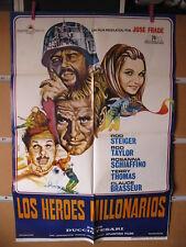 A4288 Los héroes millonarios Rod Steiger,  Rosanna Schiaffino,  Claude Brasseur,