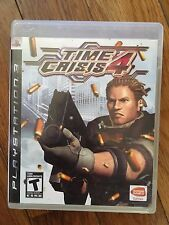 Time Crisis 4 (Sony PlayStation 3, 2007) Complete
