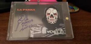 1999 LA PARKA - WCW NWO Nitro - Authentic Autograph Card - WWE WWF TNA ECW