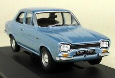Vanguards 1/43 Scale VA09524 Ford Escort Mk1 Twin Cam Blue Diecast model Car