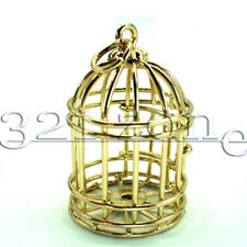 Puppenhaus Puppenstube Gold Vogel Käfig 1:12 Zubehör Puppenstube Mini Vogelkäfig