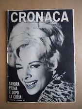 CRONACA n°11 1966 Sandra Milo - Vittorio Adorni & Anquetil  [D24]