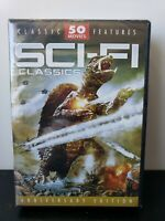 Sci-Fi Classics 50 Movie Pack (DVD, 2004, 12-Disc Set) Brand New