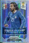Panini Prizm WC 2014 World Cup Stars Refractor Parallel #24 Andrea Pirlo