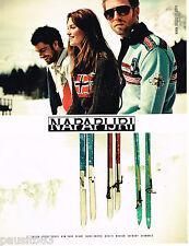 PUBLICITE ADVERTISING 065  2008  NAPAPIJRI     vetements de ski