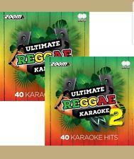 Zoom Karaoke CDG  Ultimate Reggae Karaoke  Volumes 1 & 2      80 TRACKS  4 DiSCS