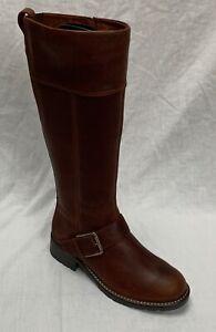 BNIB Clarks Ladies Orinoco Jazz Tan Warmlined Leather Knee High Boots