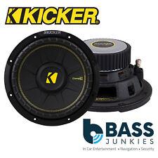 "KICKER 44CWCS84 8"" 20cm 400 Watts Single Voice Coil Car Van Boot Sub Subwoofer"