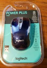 Brand New Logitech Power Plus M525 Blue Wireless Mouse 36 Month Battery Life