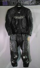 Arlen Ness 5080/81 Two Piece Motorcycle Leathers Race Suit - EU 52 / UK 42 Black