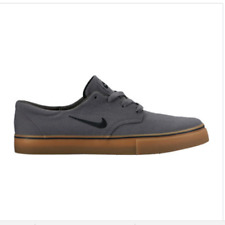 Nike SB Clutch Canvas Skate Shoe Men's 8 Gray Gum Style 729825 002 NEW MSRP $65