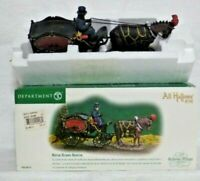Dept 56 Dickens Village All Hallows' Eve Horse Drawn Hearse - 58574