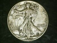 A 1941 P Walking Liberty Half Dollar 90% SILVER Free Shipping