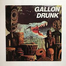 GALLON DRUNK-vous, la nuit et la musique * VINYL LP * Free p&p UK * Hunka LP1