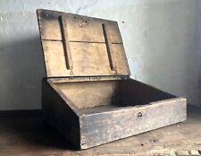 Antique 18th Century French Bible Box - Poplar Wood - Christianity - C1750