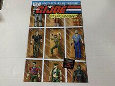 G.I. JOE SPECIAL MISSIONS #3 Variant 1:10 IDW Comics 1st Print