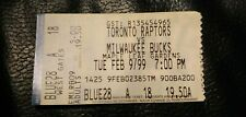 Vince Carter - 1st Toronto Game Last NBA Game at Maple Leaf Gardens Ticket Stub